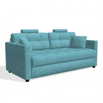 Fama Bolero 4 Seater Sofabed straight arm