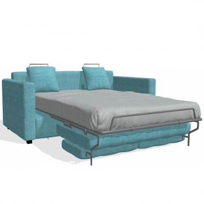 Fama Bolero 3 Seater Sofabed straight arm