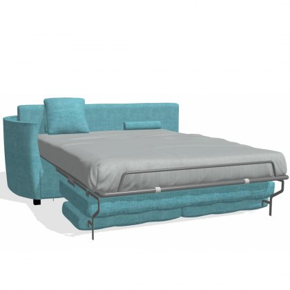 Fama Bolero 4 seater sofabed left curved arm module