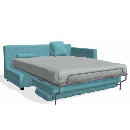 Fama Bolero 4 seater sofabed right straight arm module