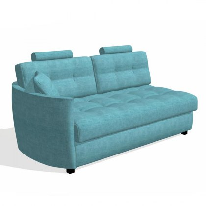 Fama Bolero 3 seater sofabed left curved arm module