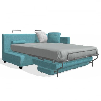 Fama Bolero 3 seater sofabed right straight arm module
