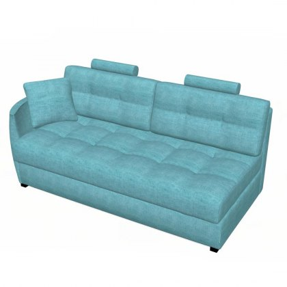 Fama Bolero 4 seater sofa left curved arm module