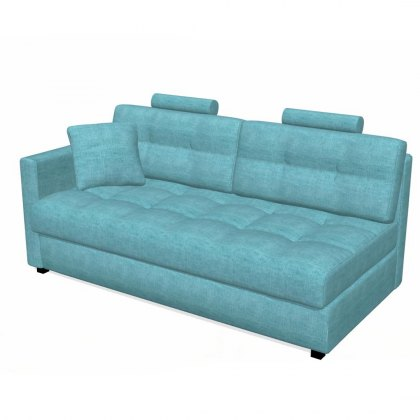 Fama Bolero 4 seater sofa left straight arm module