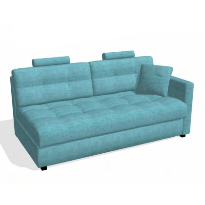 Fama Bolero 4 seater sofa right straight arm module