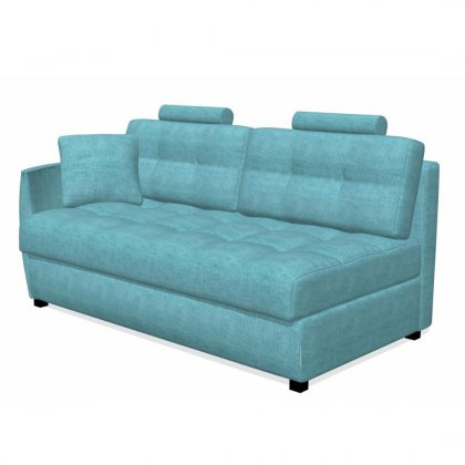 Fama Bolero 3 seater sofa left curved arm module