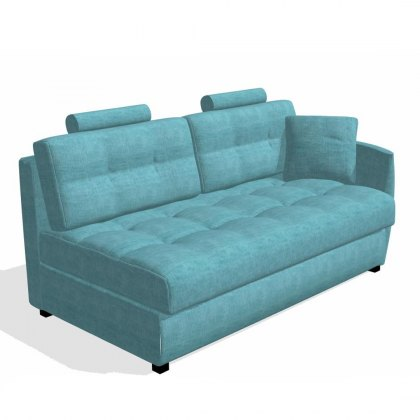 Fama Bolero 3 seater sofa right curved arm module