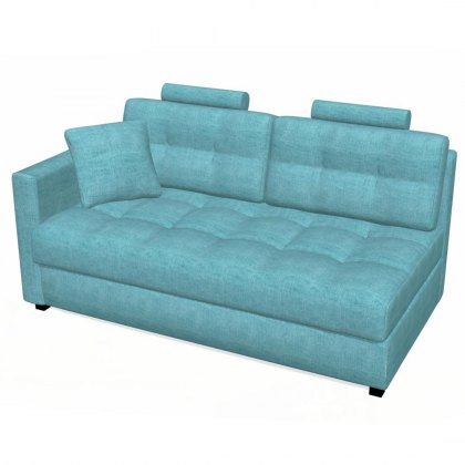 Fama Bolero 3 seater sofa left straight arm module