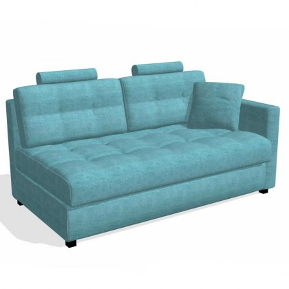 Fama Bolero 3 seater sofa right straight arm module