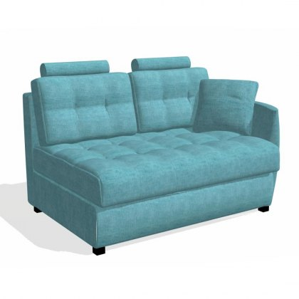 Fama Bolero 2 seater sofa right curved arm module