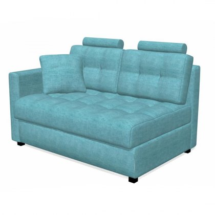 Fama Bolero 2 seater sofa left straight arm module