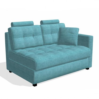 Fama Bolero 2 seater sofa right straight arm module