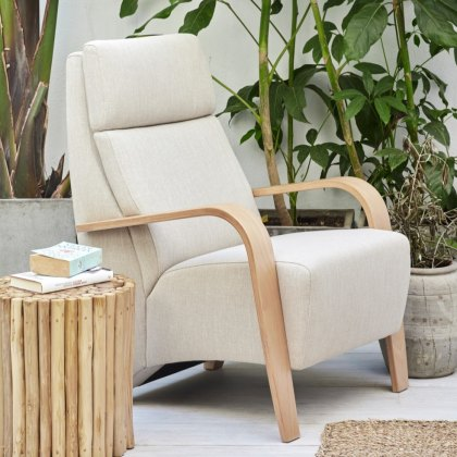 Noja fabric armchair