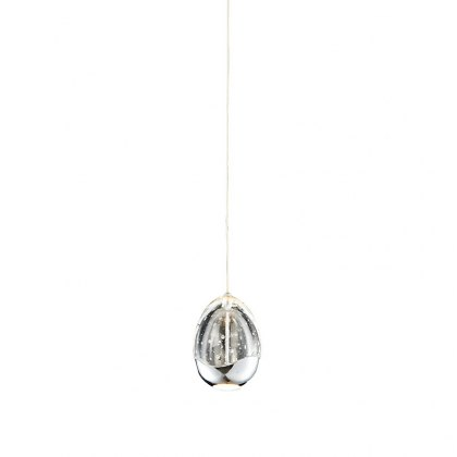 Modica 1L chrome pendant