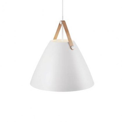 Fortyeight white pendant