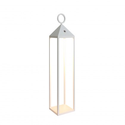 Large carrige lantern white