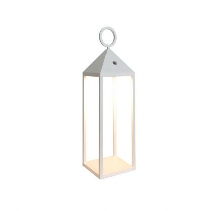 Small carrige lantern white