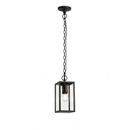 Mozota Coastal outdoor graphite box pendant light
