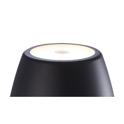 Cup table lamp black