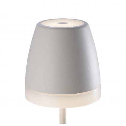 Cup table lamp white