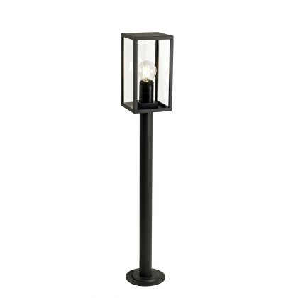 Mozota Coastal outdoor graphite tall box post light
