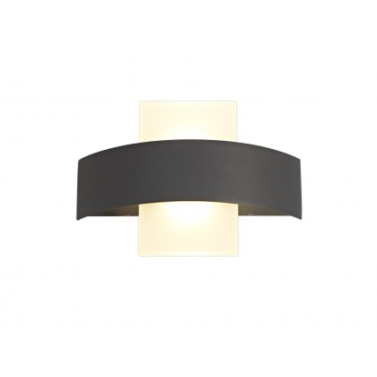 Lastor coastal Outdoor Anthracite Wall Light