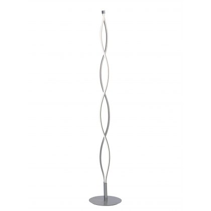 Ascara silver floor light