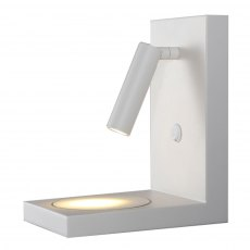 Zanzi Induction phone charger white wall light