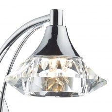Kendal Single chrome wall light