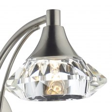 Kendal Single satin chrome wall light