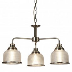 Hendon II 3L antique brass pendant
