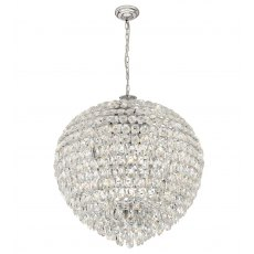 Coto chrome crystal XXL pendant light