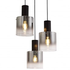 Blanes 3 cluster pendant
