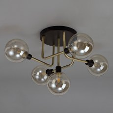 Dakar 5 ceiling light