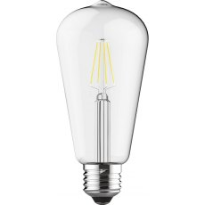 E27 LED Rustika 6.5w 4000k 710lm dimmable clear lamp