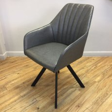 Adel rotating Dining Chair