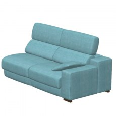 Fama Loto Fabric Double Seat Right Arm Mod