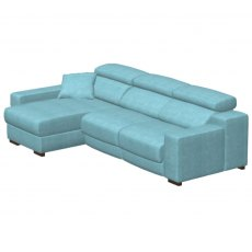 Fama Loto Fabric Double Seat Left Chaise