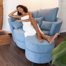 Fama MyNest Fabric Loveseat