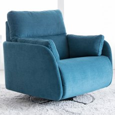 Fama Adan XL Fabric Power Recliner Armchair