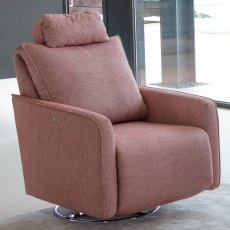 Fama Bonne Fabric Power Recliner Armchair