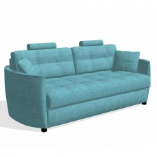 Fama Bolero 4 Seater Sofabed curved arm