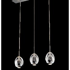Modica 3L chrome bar pendant