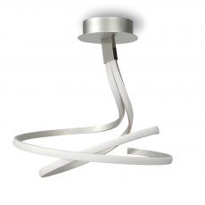 Librilla Double Twist semi flush light