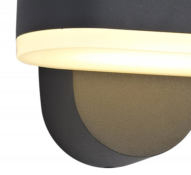 Julia Jones Marana coastal outdoor anthracite single wall light