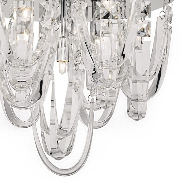 Julia Jones Royston 7 Lt semi flush