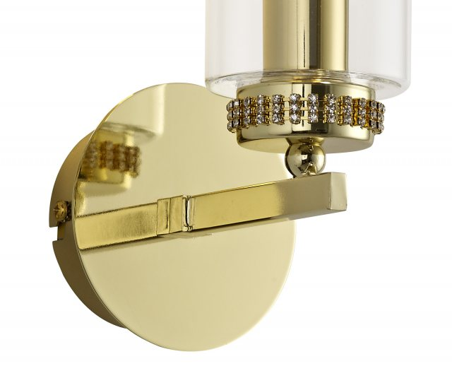 Julia Jones Domecelle Gold Single Wall Light