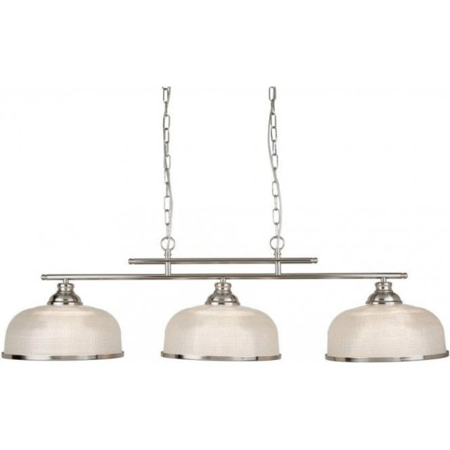 Julia Jones Hendon II Bar 3L satin silver pendant
