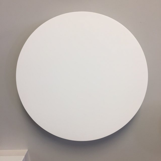 Circular plaster LED wall wash light