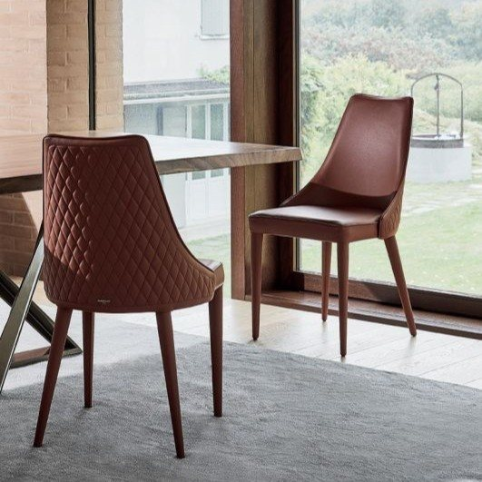 Bontempi Casa Clara chair with covered legs